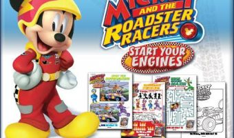 Mickey and the Roadster Racers Coloring Sheets and Start Your Engines DVD out August 15th!