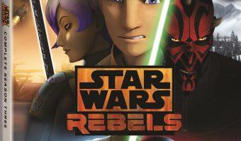 Star Wars Rebels: Complete Season Three Blu-ray!
