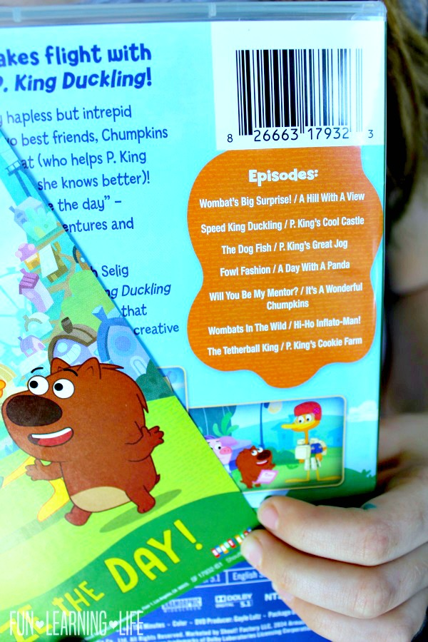 P. King Duckling: Seize The Day DVD Plus Activity Book! - Fun ...