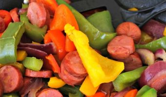 Smoked Sausage and Bell Peppers Recipe Inspired By Hunger Action Month!