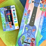 Hosting A Dance Party With PJ Masks Musical Instruments!