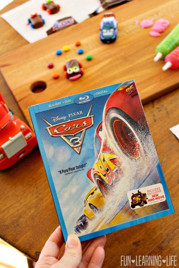 Candy Cars Craft To Celebrate Disney Pixar Cars 3 Out On Blu Ray And