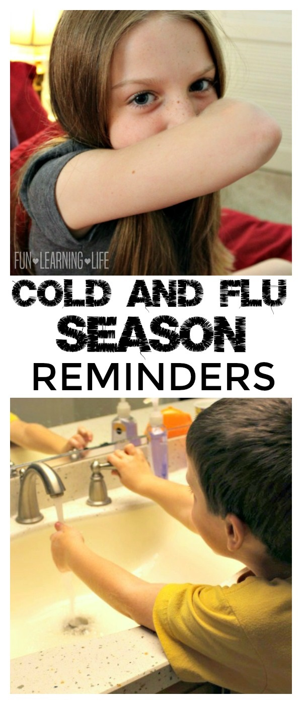 Reminders During Cold and Flu Season
