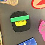 LEGO Ninjago Magnet Craft Inspired By The LEGO Ninjago Movie Blu-Ray!
