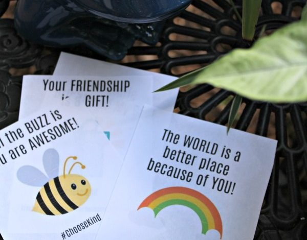 Simple Service Ideas and Printable Compliment Notes Inspired by the Film WONDER!
