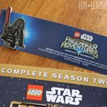 LEGO Star Wars: The Freemaker Adventures Season 2 DVD With Exclusive Darth Vader Pin!