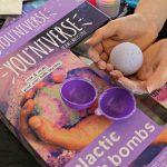 YOU*NIVERSE Galactic Bath Bombs Kit Review!