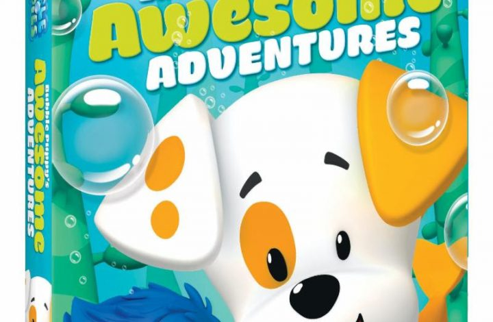 Bubble Guppies: Bubble Puppy's Awesome Adventures DVD Now Available! {Giveaway}