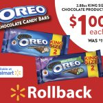 OREO Chocolate King Size Candy Bars are NOW on Rollback at Walmart for a $1!