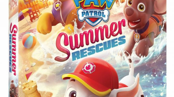 NOW Available, PAW Patrol: Summer RescuesDVD! {Giveaway}