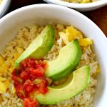 Avocado and Egg Breakfast Bowl Recipe!