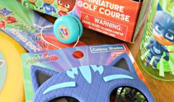 Miniature Golf Set and Other Fun PJ Masks Outdoor Toys!