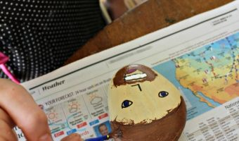 Father's Day Paper Weight and How To Decorate Kindness Rocks!