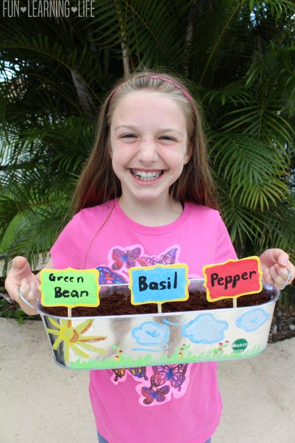 Summer Craft Idea, Miracle-Gro Kids My First Garden Kit