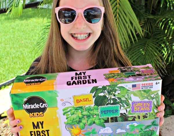 Summer Craft Idea, Miracle-Gro Kids My First Garden Kit!
