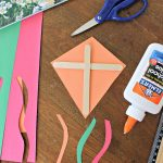 Paper Kite Craft and BENJI AND THE GIANT KITE Book Review!