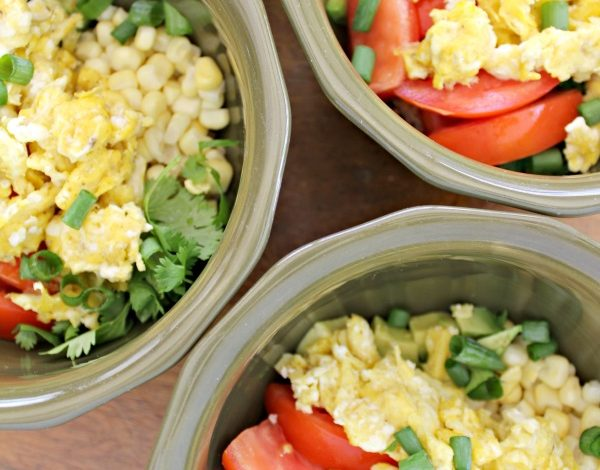 Southwestern Quinoa and Egg Breakfast Bowl Recipe and Family Meals Pledge!