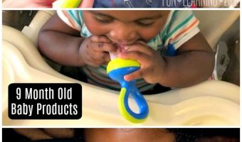 Baby Products That Are Keeping My 9 Month Old Happy!