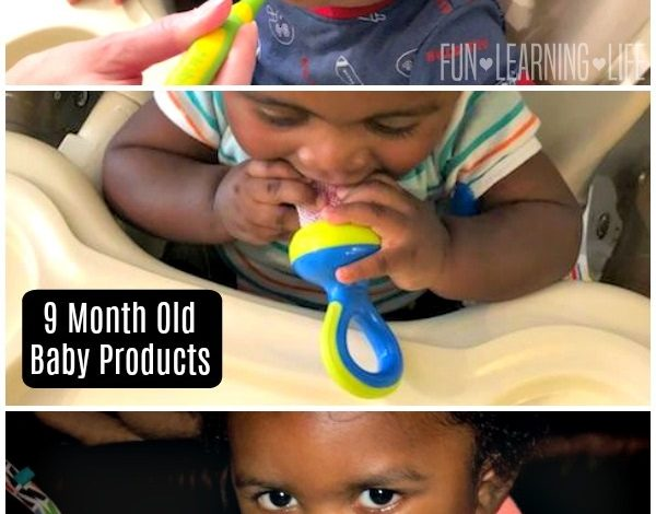 Baby Products That Are Keeping My 9 Month Old Happy! {Giveaway}