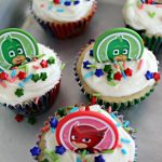 Easy PJ Masks Cupcakes To Celebrate Heading Back To School!