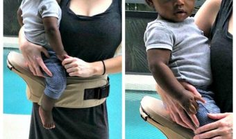 Abiie Huggs Contour Baby Carrier, Helping To Prevent Hip Dysplasia and Giving Parents Support!