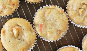 Apple Cinnamon Banana Muffins Recipe to Support Feeding America!