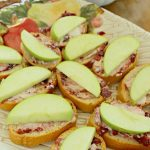 Apple Cranberry Goat Cheese Crostini Recipe for Easy Holiday Entertaining!