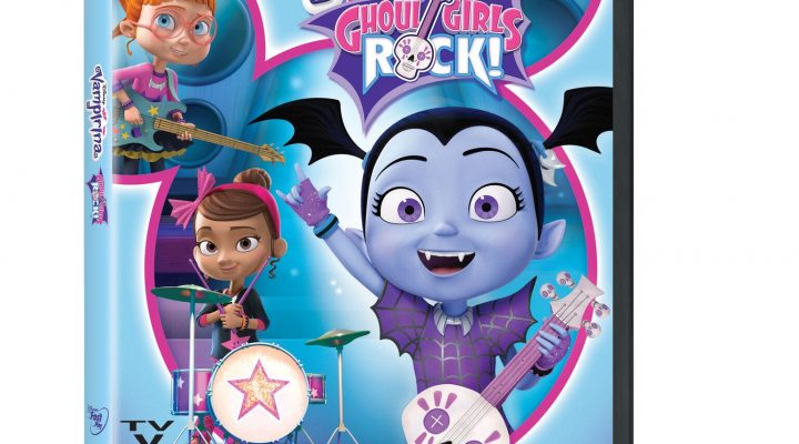 VAMPIRINA: GHOUL GIRLS ROCK, Now Out On DVD With Seven Bonus Shorts! {Giveaway}
