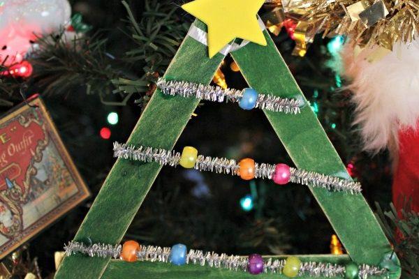 Christmas Tree Ornament Craft!
