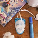 Yeti Foot Ornament Craft To Celebrate SMALLFOOT THE MOVIE on Blu-ray!
