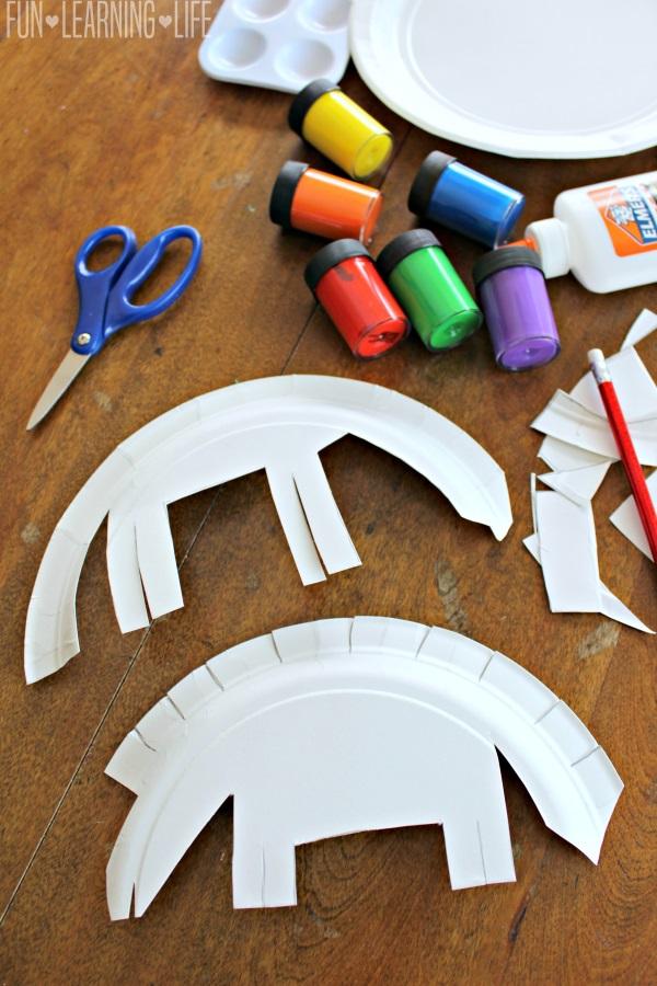 Paper Plate Dinosaur Craft Inspired By Gigantosaurus Fun Learning