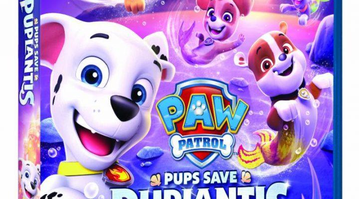 PAW Patrol Pups Save Puplantis DVD Review! {Giveaway}
