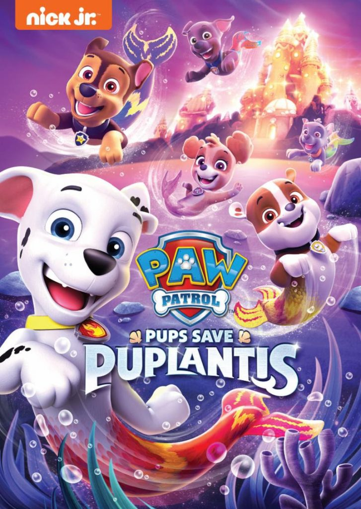 PAW Patrol Pups Save Puplantis DVD Review! - Fun Learning Life