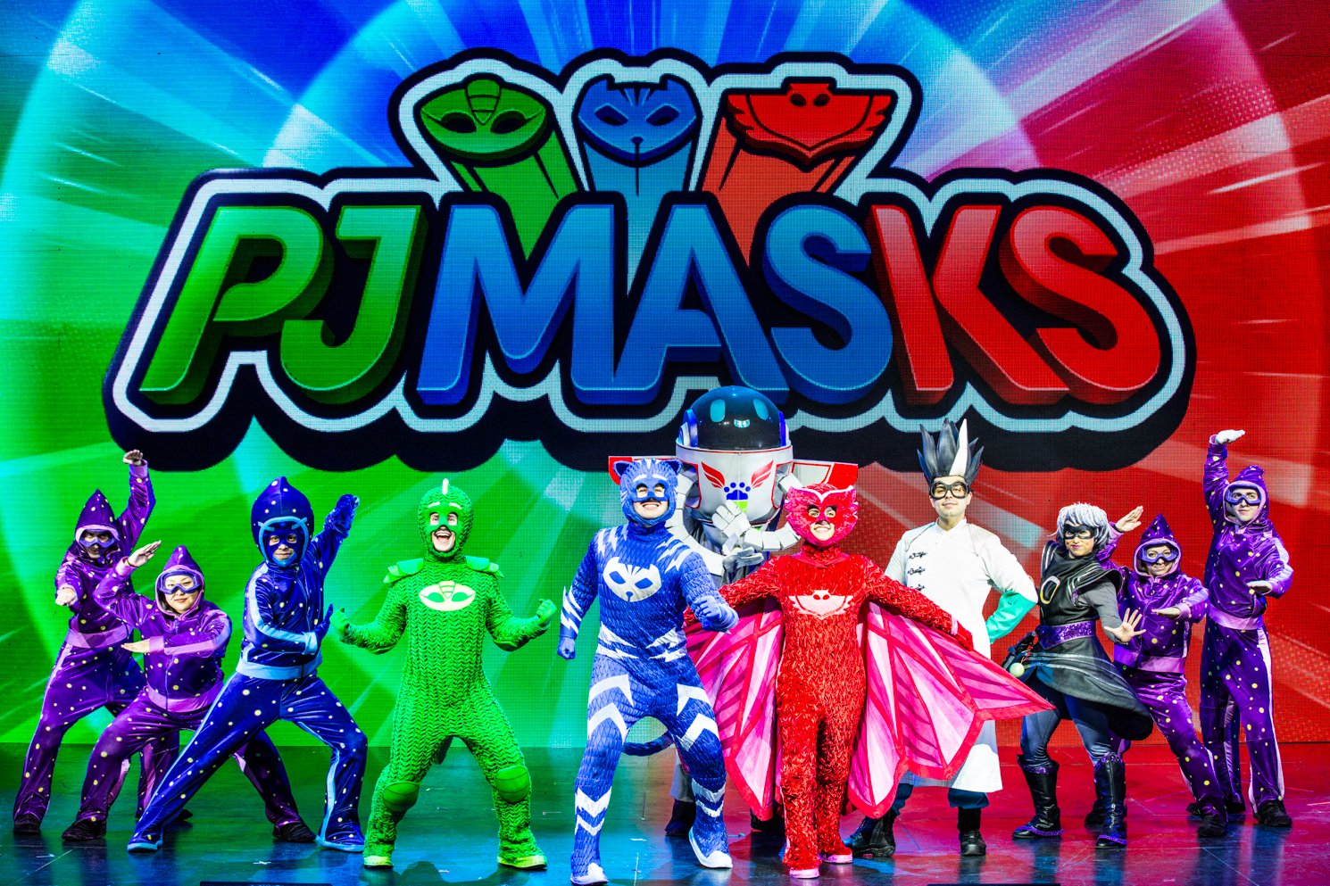PJ MASKS LIVE Tour Dates For 2019 and A Family 4-pack Ticket