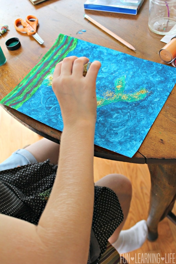 Mermaid Tail Craft