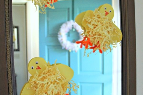 Baby Chick Craft with Printable Template!
