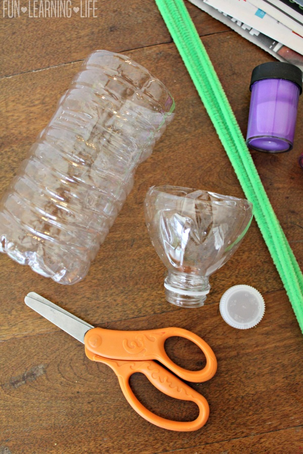Water Bottle Flower Craft