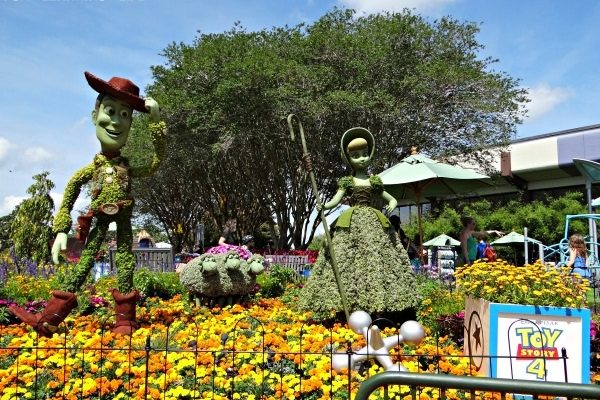 Epcot International Flower and Garden Festival Activities For Kids!