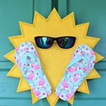 Sun Wreath Craft for Summer!