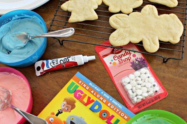 Making Cookies To Celebrate Watching The UglyDolls Blu-Ray!