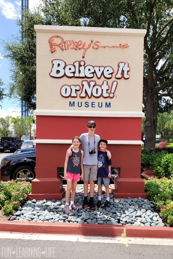 Ripley's Believe It Or Not In Orlando