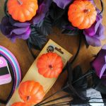 Making Our Own Halloween Minnie Mouse Ears Craft!