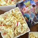 Peppermint Popcorn and Watching The Toy Story 4 Blu-ray!