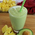 Pineapple Avocado Smoothie Recipe To Support Feeding America!