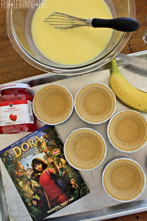 Banana Pudding Pies