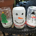 Waterless Snow Globe Craft for Winter Break!