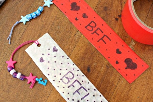 Bookmark Craft With Duct Tape! {Craft Supplies Giveaway}