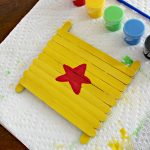 Superhero Craft Stick Art!