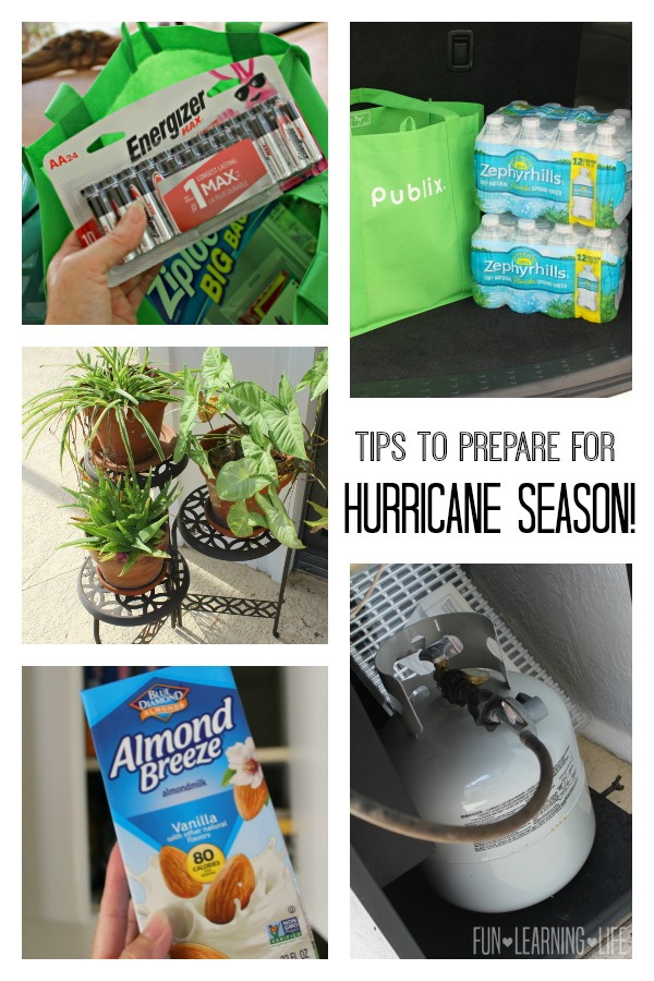 Tips To Prepare For Hurricane Season!