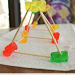 STEM Camp Idea – Gummy Bear Buildings With Toothpicks!